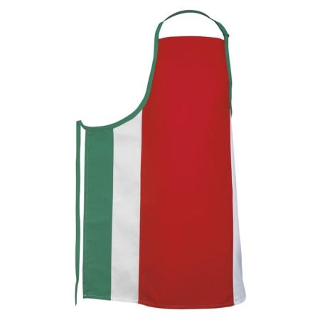 Italian Flag Bib Apron