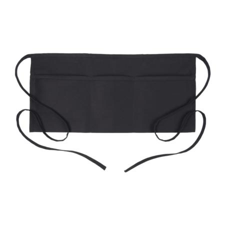 Black 3 Pocket Waist Apron