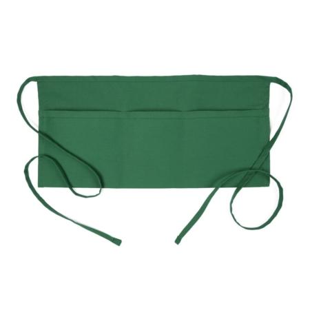 Kelly Green 3 Pocket Waist Apron