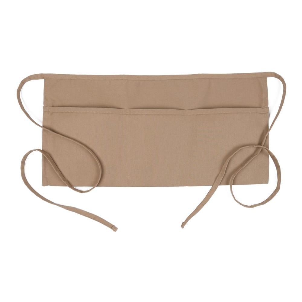 Khaki 3 Pocket Waist Apron