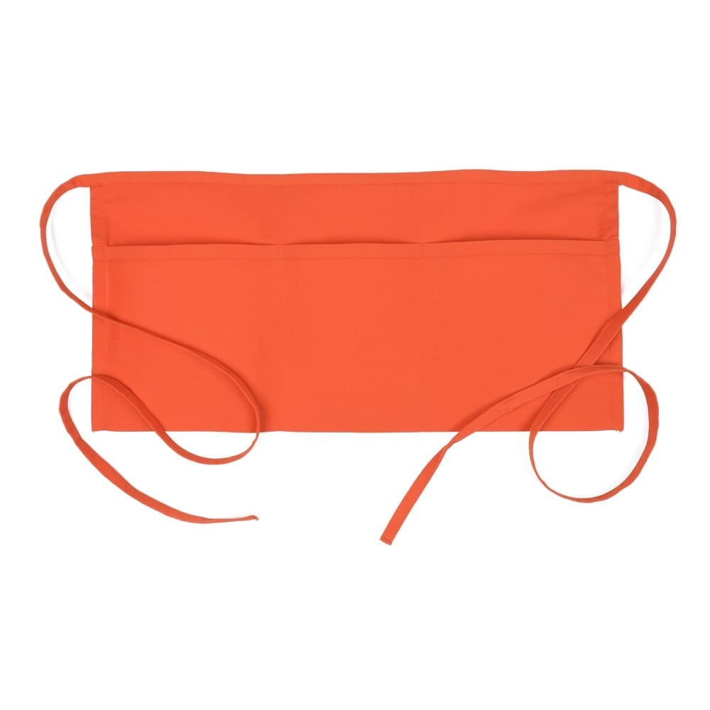 Orange 3 pocket Wast Apron