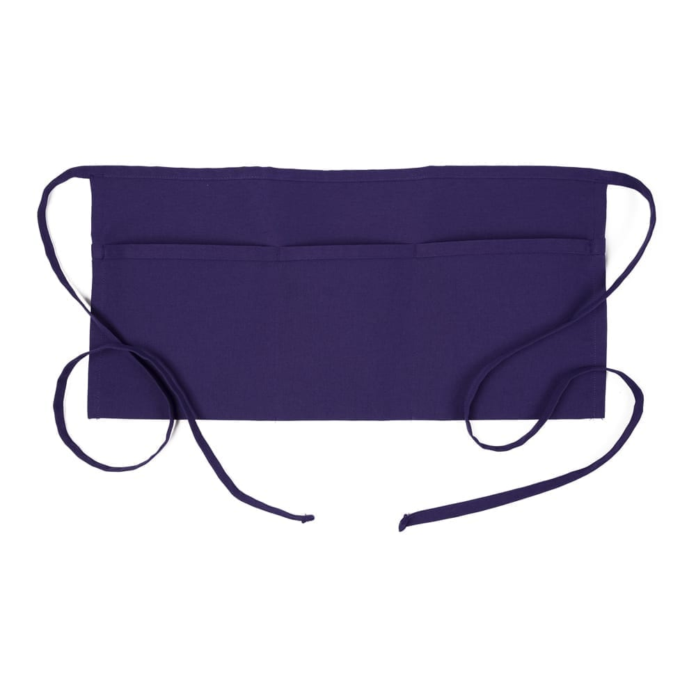 Purple 3 Pocket Wasit Apron