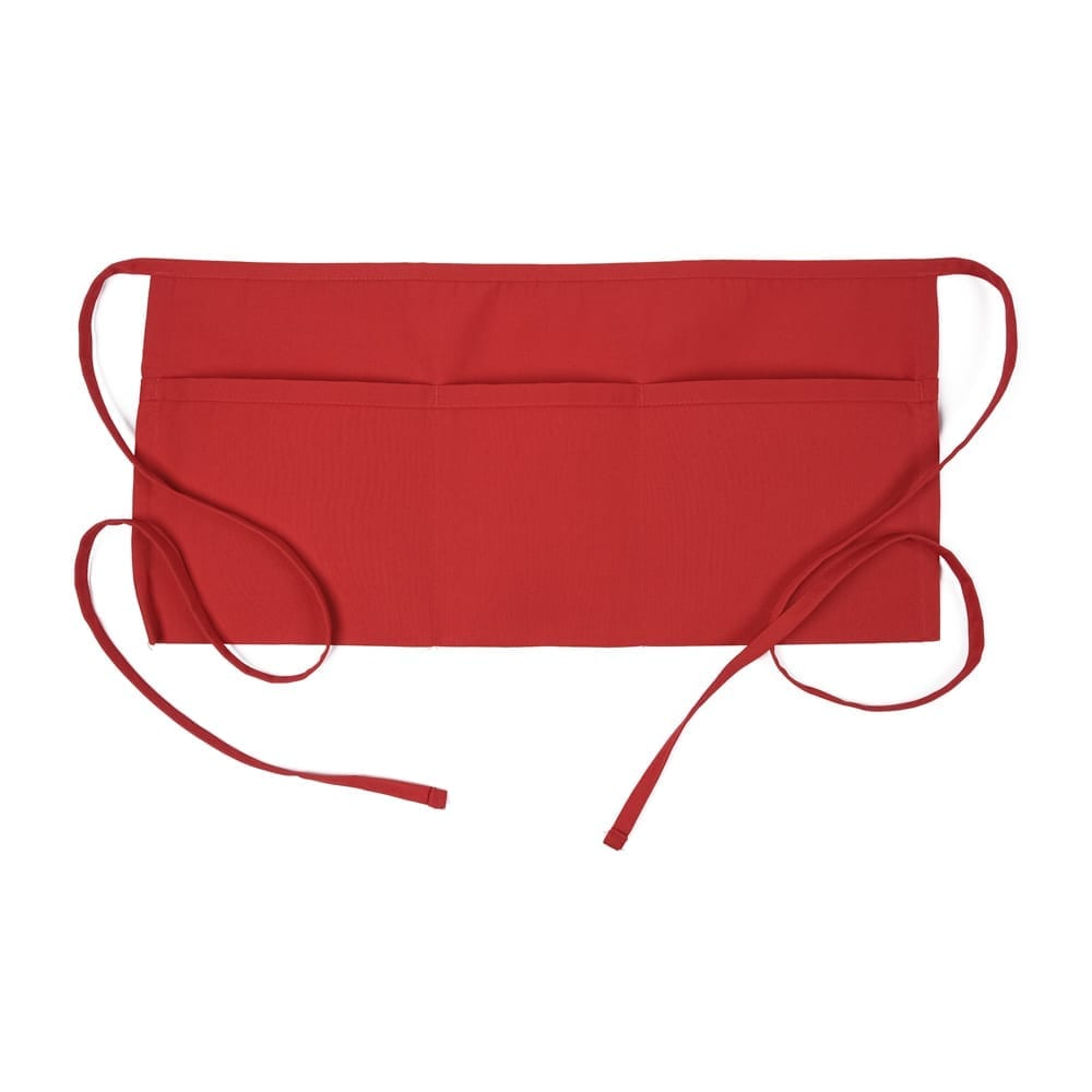Red 3 Pocket Waist Apron