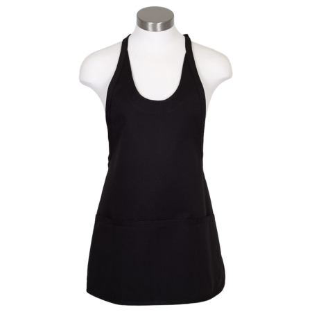 3 Pocket Scoop Neck Bib Apron