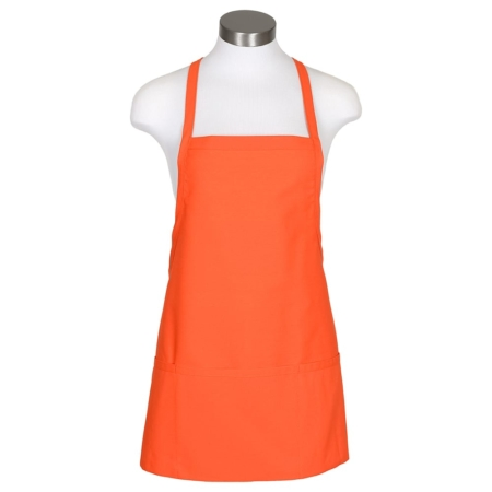 3 pocket criss-cross bib apron
