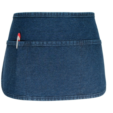 3 pocket round bottom waist apron