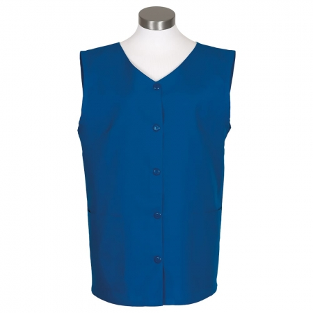 womens sleeveless smock