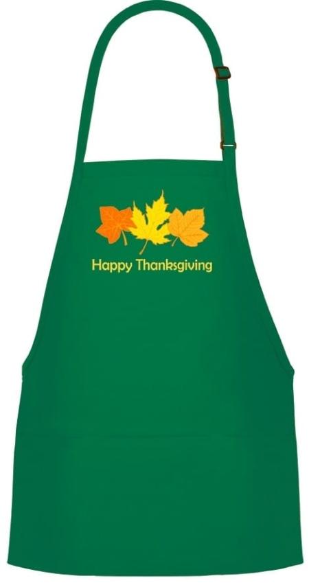 Thanksgiving Bib Apron