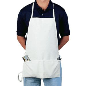 2 Pocket Bib Nail Apron
