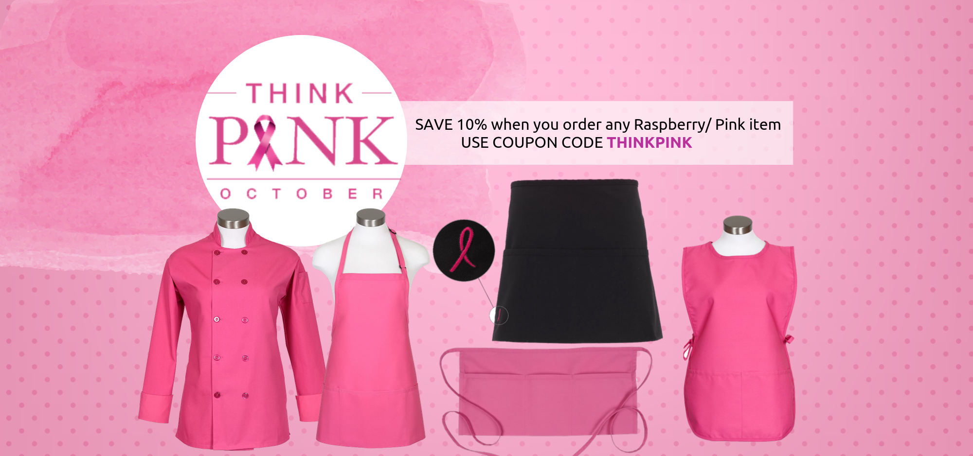 Think Pink - Breast Cancer Awareness Month