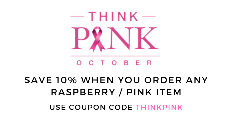 Think Pink 10% off