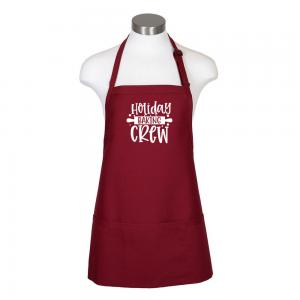 Holiday Baking Crew F10 Burgundy