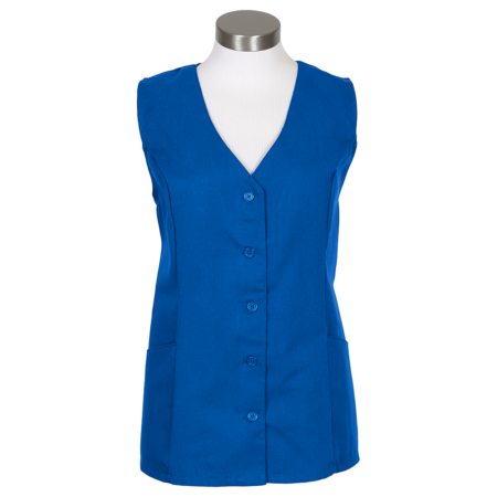 Fame Adults Female Smock Royal Blue Small K72
