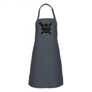 BBQ Master Apron - Charcoal