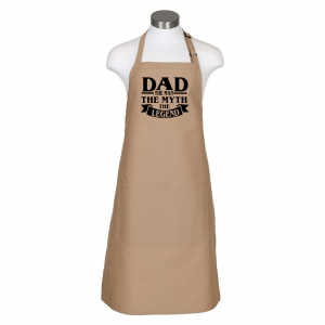 Dad the man apron - khaki