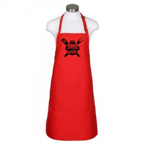 BBQ Master Apron - Red