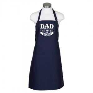 Dad the man apron - navy