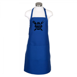 BBQ Master Apron - Royal Blue