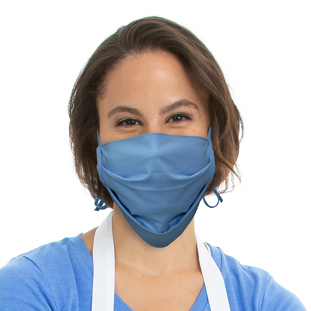 Cloth Face Mask Front Model
