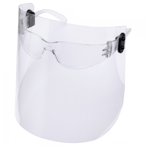 Face Shield with Safety Glasses